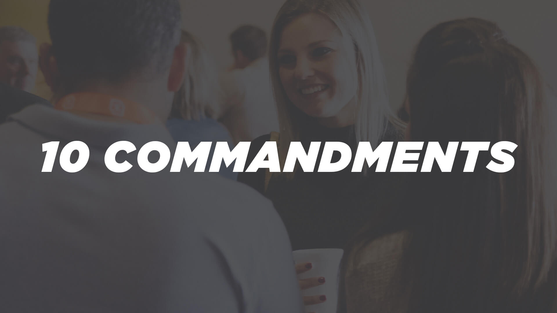 Zach Gryder | 10 Commandments – Adultery